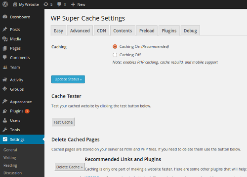 wp-super-cache-wordpress plugins